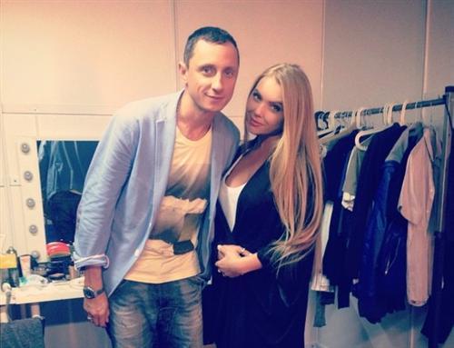 Карина Лазарьянц и Вадим Галыгин