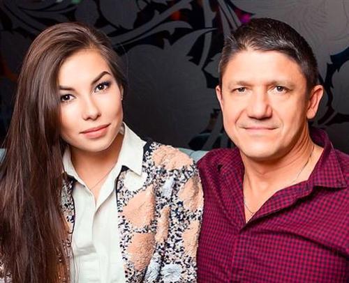 Карина Нигай и Вадим Семёнов (её муж)