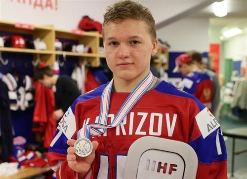 Хоккеист Кирилл Капризов