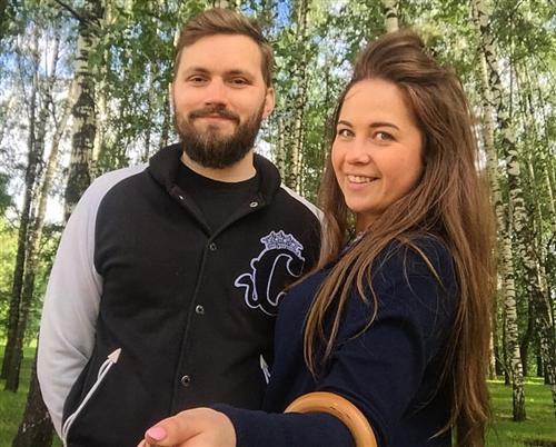 Кирилл Трифанов и его жена Дарья Суханова