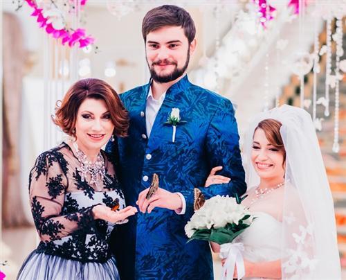 Ксения Сябитова и Андрей Снетков (фото свадьбы)