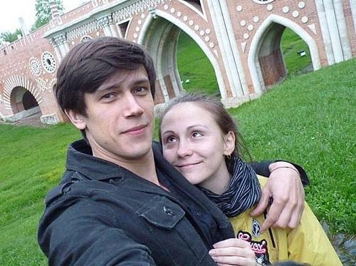 Леонид Бичевин и его жена Мария Бердинских