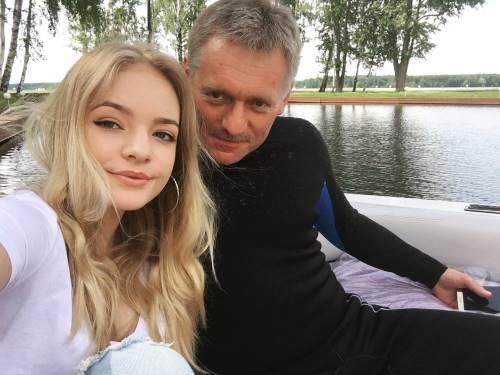 Лиза Пескова дочь Дмитрия Пескова