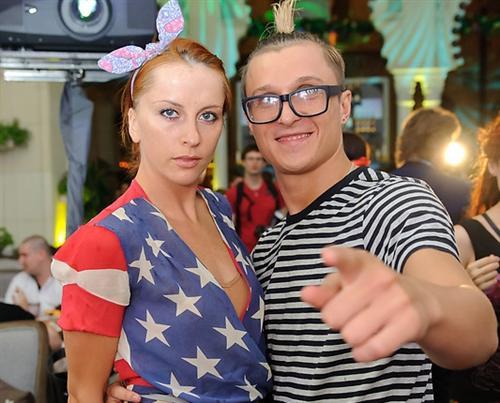 Макс Нестерович и Катя Решетникова встречаются