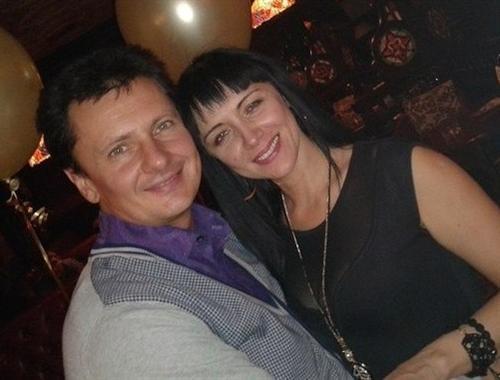 Максим Ярица и его жена Татьяна
