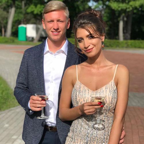Марика Добрынская девушка футболиста Дмитрия Чистякова