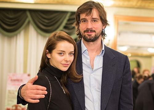 Марина Александрова и Андрей Болтенко, её муж
