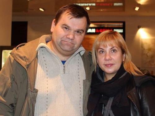 Марина Федункив и её муж Андрей