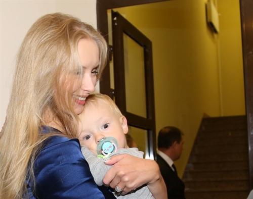 Фото Марины Коташенко с сыном от Александра Градского
