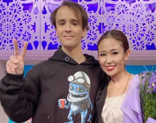 Балерина из Японии Марина Сибаяма и Слава Марлоу в шоу «Давай поженимся»