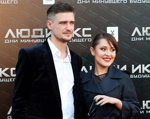 Мария Кравченко и её муж Константин Золотарёв