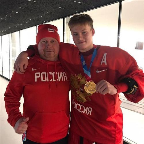 Матвей Мичков и его отец