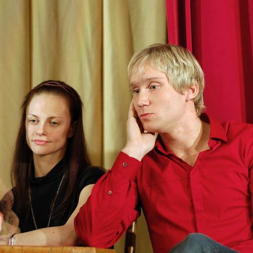 Михаил Лобухин и его жена Яна Селина