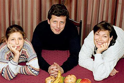 Михаил Ширвиндт, его дочь Александра и жена Татьяна