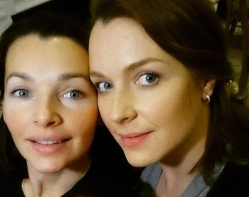 Наталия Антонова и её родная сестра Светлана