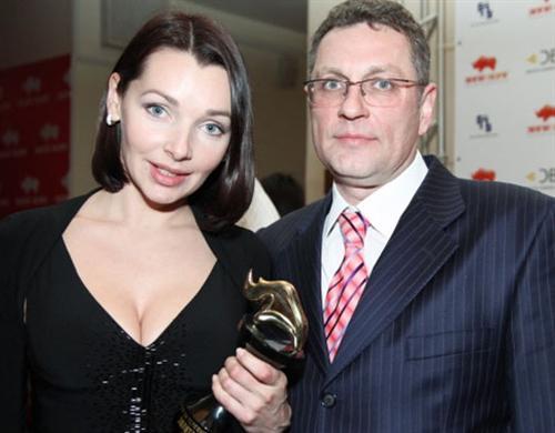 Наталья Антонова с мужем Николаем Семеновым