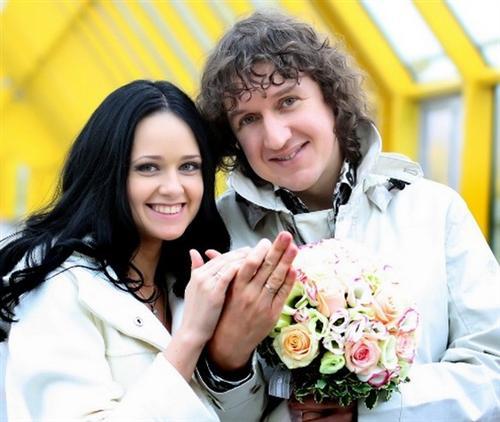 Наталья Мельниченко и ее муж Сергей Мельниченко