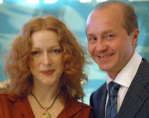 Актриса Наталья Рогожкина и Алексей Панин
