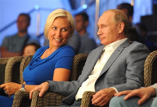 Наталья Рогозина и Владимир Путин