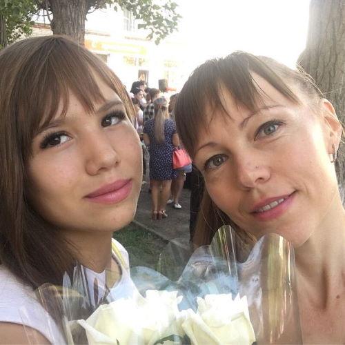 Наталья Роинашвили в Доме-2 с дочерью