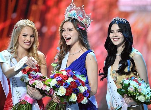 Наталья Строева представлявшая Россию на Мисс мира 2018