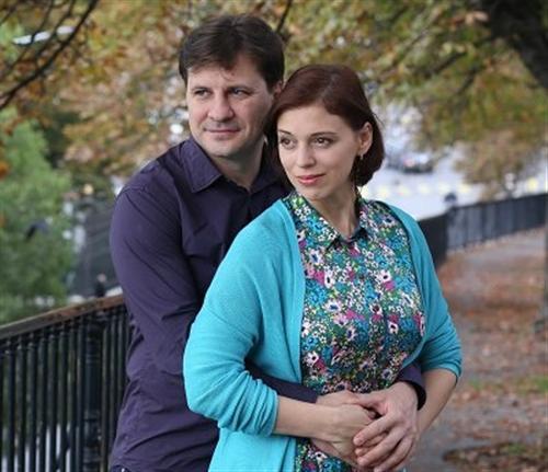 Нелли Уварова и её муж Александр Гришин