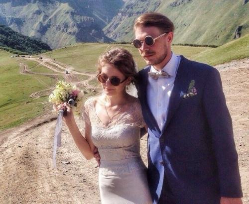 Никита Ефремов и его жена Яна Гладких