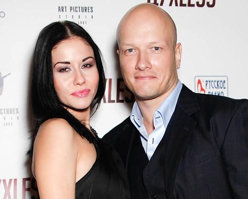 Никита Панфилов и его жена Лада