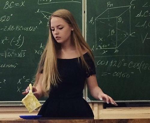 Оксана Невеселая та самая горячая учительница из Беларуси