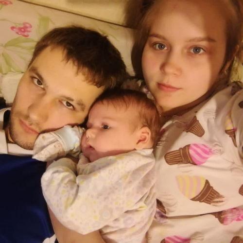 Олеся и Богдан из Томска (Беременна в 16)