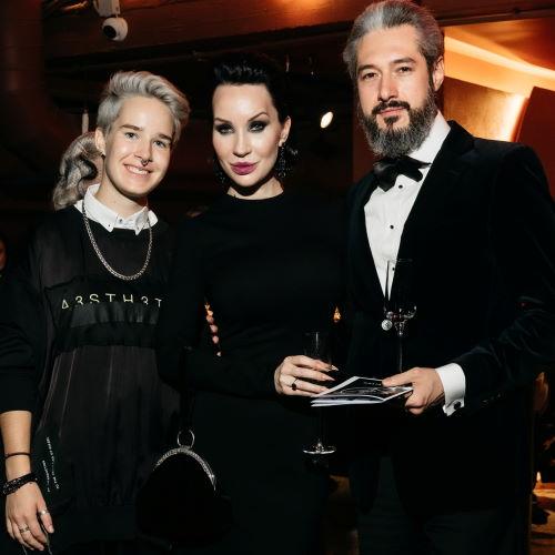 Ольга Якубович, ее муж Михаил Берадзе и дочь Екатерина