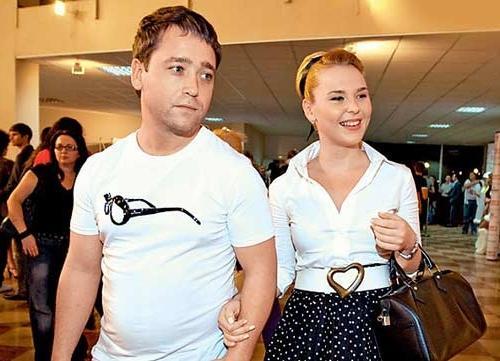 Пелагея и её бывший муж Дмитрий Ефимович