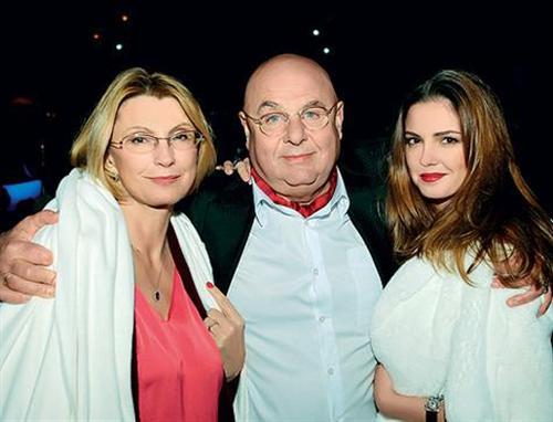 Полина Долинская и её родители