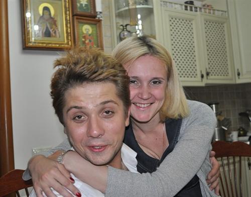 Роман Маякин и его жена Елена