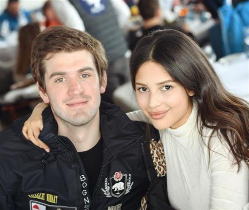 Ростислав Багиров и его жена Диана Манасир