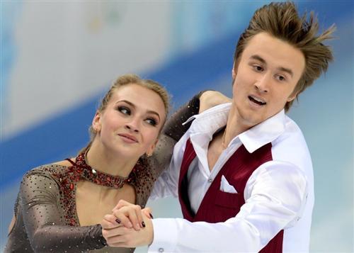 Руслан Жиганшин и Виктория Синицына