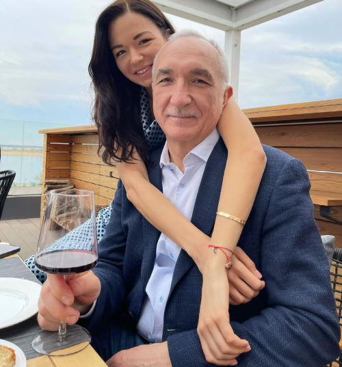 Сабина Шох и ее отец Рохус Шох (фото Instagram)
