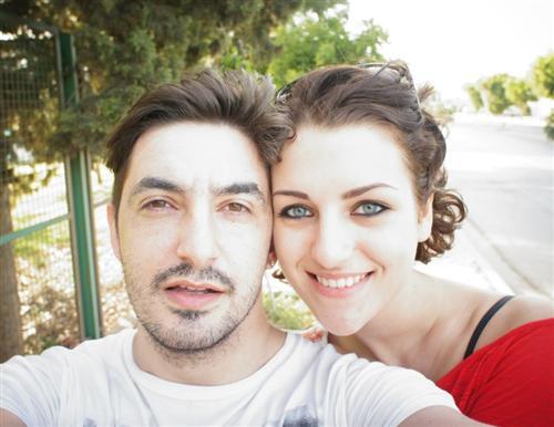 Сергей Матвиенко и его девушка Мария Бендыч