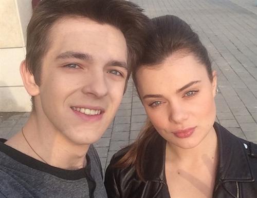 Сергей Журавлев и его девушка Мария Сильченко