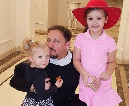 Стас Михайлов с детьми
