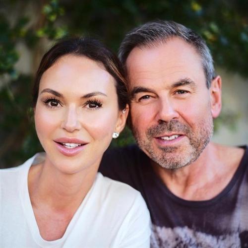 Светлана Меткина и ее муж Мишель Литвак