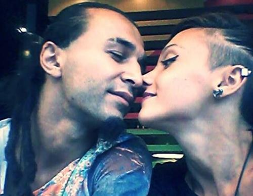 Теона Цицакишвили и её муж