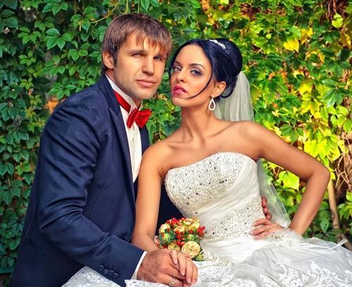 Тимур Ефременков и его жена Юлия