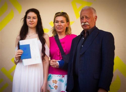 Дочь Якубовича Варвара