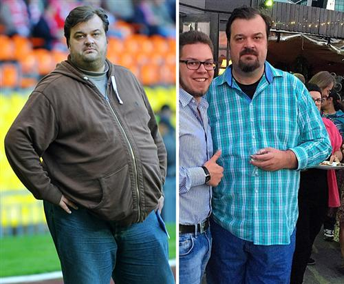 Василий Уткин похудел на 95 килограмм