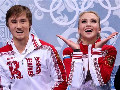 Виктория Синицына и Руслан Жиганшин, её первый партнер