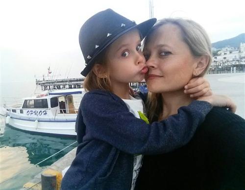 Виталия Корниенко с мамой