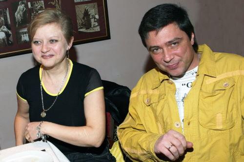 Владимир Асимов и его жена Татьяна Томилина