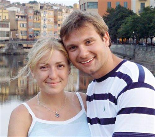 Владимир Фекленко и его жена Камилла