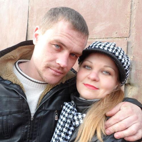 Владимир Санкин и его жена Полина Наумова